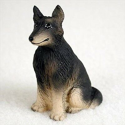 BELGIAN TERVUREN puppy TiNY DOG Figurine HANDPAINTED MINIATURE MINI Resin Statue