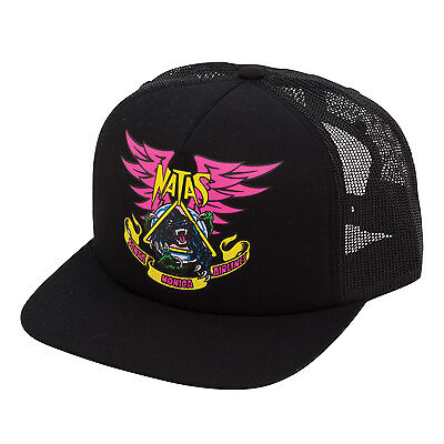 SANTA CRUZ Skateboard Hat NATAS PANTHER BLACK