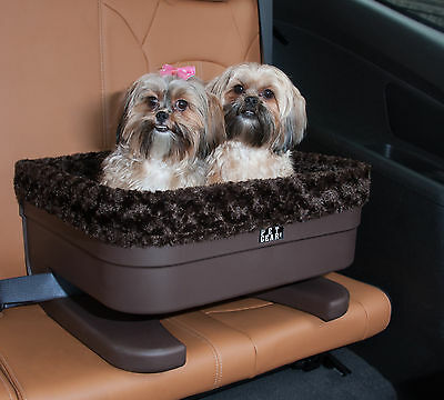 NEW Pet Gear Dog Cat Car Lookout Bucket Seat Booster ,Chocolate/Jaguar,Two Sizes