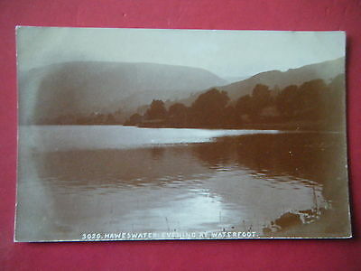 Haweswater, Mardale: Evening At Waterfoot - Scarce Lowe Real Photo Postcard!