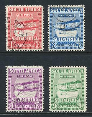 South Africa 1928 Air Set, Vf Used Sg#26-9