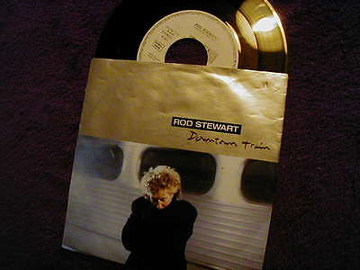 "Rod Stewart, Downtown Train (Tom Waits) ,7"" Vinyl Also Ideal For Jukebox"