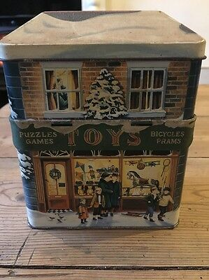 The Silver Crane Company  Tin 1995 - Toys Shop With Canopy Vintage