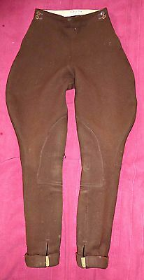 VINTAGE 20S 30S 40s PYTCHLEY ELEPHANT EAR JODHPURS RIDING BREECHES UK 8 GOODWOOD