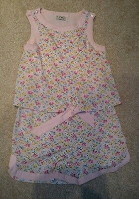 girls age 8 Next short playsuit