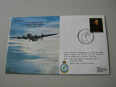 Flown Cover - 1983 - Anniversary of the Handley Page Halifax (1745)