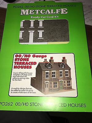 Metcalfe PO262 00/H0 Stone Terrace Houses OO Gauge Model Railway
