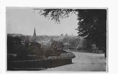 Real Photographic Postcard Station Road Bakewell Derbyshire c1910