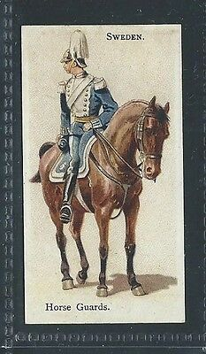 Bat British American Tob Soldiers Of The World Leaf Back Sweden Horse Guards