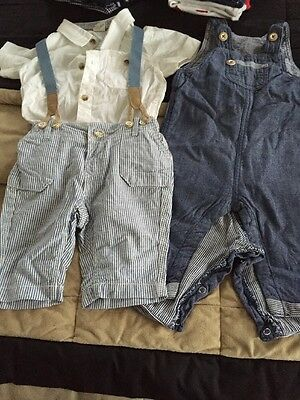 X2 H&M Outfits For Boys Age 6-9 Months