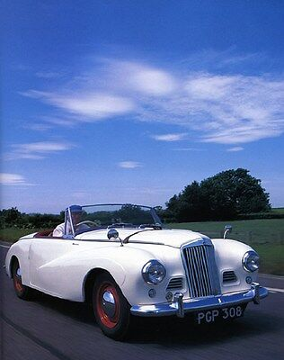 1954 Sunbeam Talbot Alpine MK3 Factory Photo ca6382