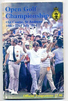 113rd OPEN GOLF CHAMPIONSHIP ST ANDREWS Programme Tom Watson cover