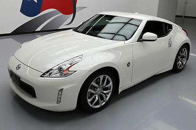 2014 Nissan 370Z  2014 NISSAN 370Z TOURING COUPE AUTO HTD LEATHER 24K MI #634165 Texas Direct Auto