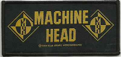 MACHINE HEAD logos / band name 1994 - WOVEN SEW ON PATCH no longer made