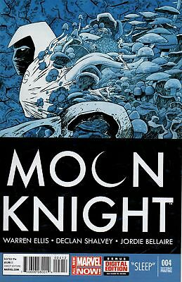 MOON KNIGHT #4 SHALVEY VARIANT (Marvel 2014 2nd Print) COMIC