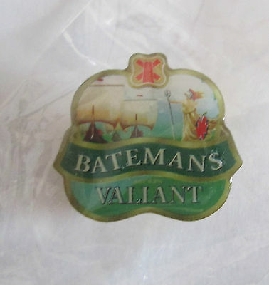 A Pair of Batemans New Pin Badge
