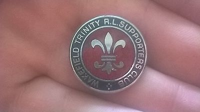 Wakefield Supporters Club Rugby League Pin Badge