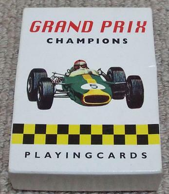 Grand Prix Champions - Pack of Formula 1 Motor Racing Pictorial Playing Cards