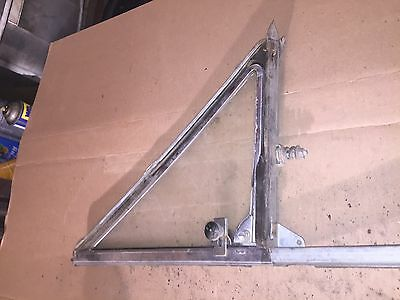 1964 or 1965 Chevrolet Chevelle 2-d sedan DS vent window and frame