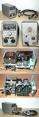 1950's microphone tube preamplifier RFT MV4056