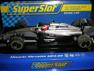 "Scalextric / Superslot McLaren Mercedes MP4-29 F1 ""Magnussen"" -  New Boxed H3665"