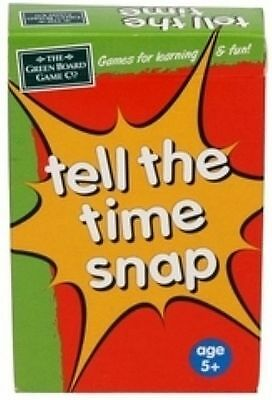 Tell the Time Snap & Pairs Card Games for Children Educational Game g4