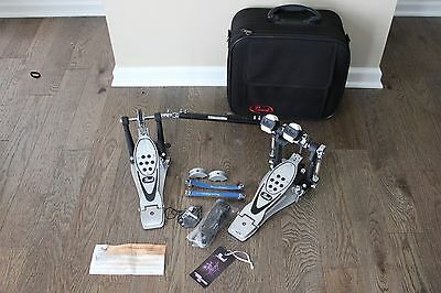 Pearl P-1002 ProStock Double Drum Pedal with Case