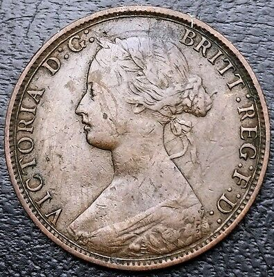 GREAT BRITAIN: 1862 Half Penny (1/2), KM# 748, Sp# 3956 - Free Combined S/H