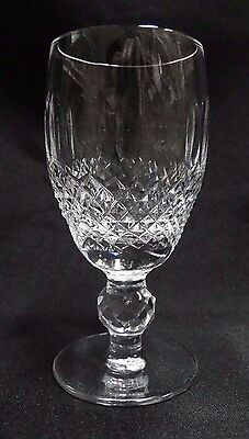 "Waterford Crystal Colleen, Short Stem, Thumbprints: Sherry (s), 4 1/4"" Tall"