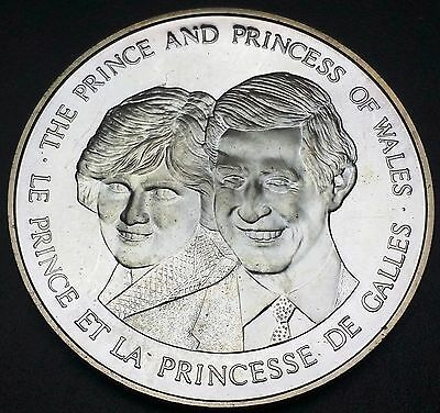 1983 Canada Silver Medal - The Prince And Princess Of Wales