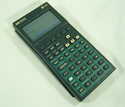 Hewlett Packard HP38G - Vintage Quality Calculator in great condition