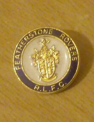 Featherstone Rovers Rugby League Pin Badge