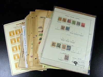 SWEDEN, ICELAND, DENMARK, NORWAY and FINLAND  stamps G196