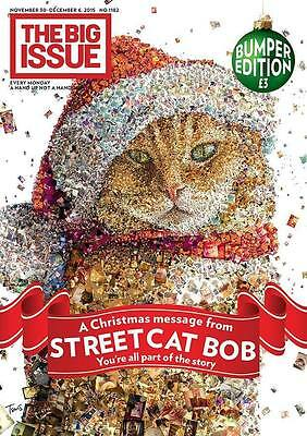 Big Issue Magazine Christmas 2015 Street Cat Named Bob The Streetcat James Bowen