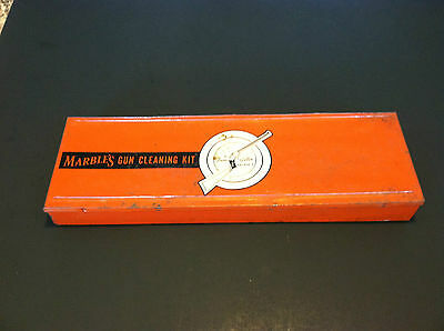 Old Vintage Metal Marbles Gun Cleaning Kit Mixed Contents