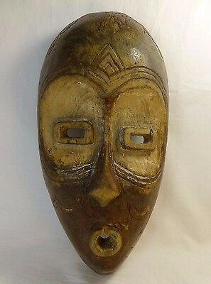 Old African Tribal Mask Gabon Congo Songye Lwalwa Initiation ?