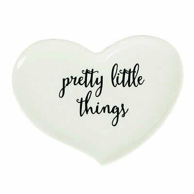 Sass & Belle Ceramic Pretty Little things ring holder/dish.Jewellery.Gift.Home