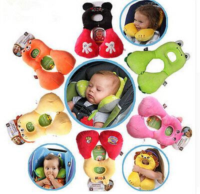 Cute Toddler Baby U-shaped Neck Headrest Travel Car Seat Pillow Child StrolleLAC