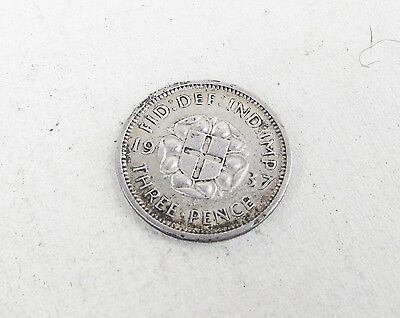 Antique 1937 Three Pence 3P Threepence Coin Maundy ? Coin Vintage