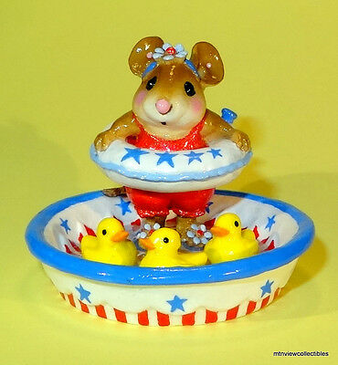 Wee Forest Folk M-278a DUCKY DIP-Limited Edition (June 13-July 13)-Retired-NEW