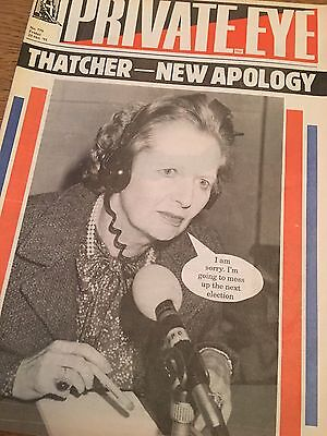 Private Eye Magazine Number No 779 October 25 1991 Margaret Thatcher Cover