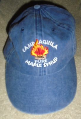 ** Camp Aquila Pure Maple Syrup Cap Hat - Star Lake, MN