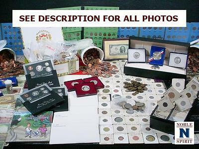 NobleSpirit NO RESERVE Exciting Colossal US & WW Coin & Currency Estate!!