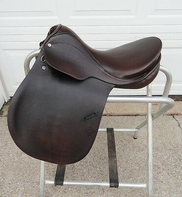 """17"""" COURBETTE Husar All Purpose JUMPING English Horse Saddle"""
