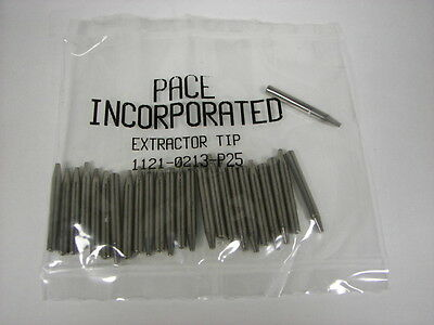 """25 Pace Desoldering Extractor tip 1121-0213 .020""""ID Sodr X Tractor  SX-20 SX-25"""