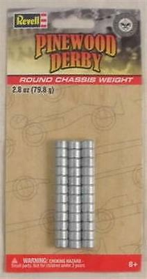 Revell Pinewood Derby Round Chassis Weights RMXY9601
