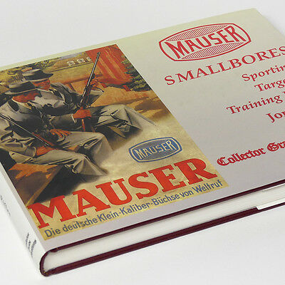 Mauser Smallbores Book Sporting, Target & Training Rifles by Jon Speed  MINT !