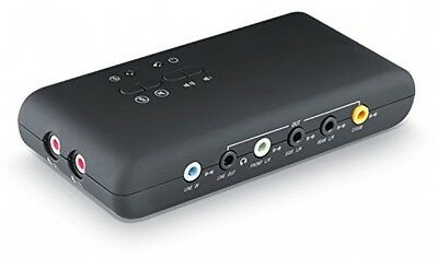 CSL - USB 7.1 external sound card (8-channel) Analog and Digital Audio Equipment