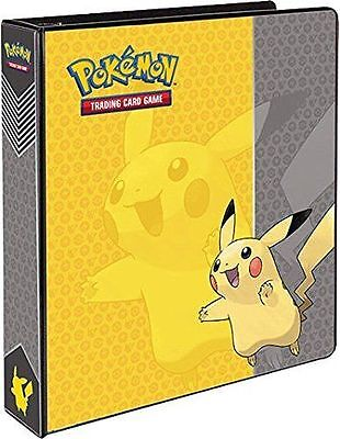 "NEW ULTRA Pro Pokemon Pikachu 2"" 3 Ring Binder Album"