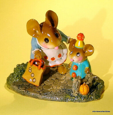 Wee Forest Folk M-372 Mommy's Little Trickster-Retired 2011
